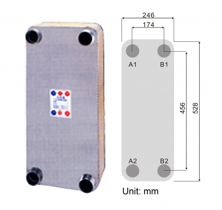 K205 HVAC Heat Exchanger